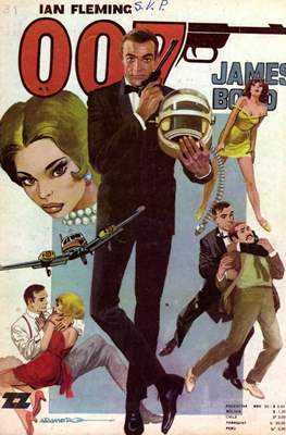 007 James Bond (Grapa) #39