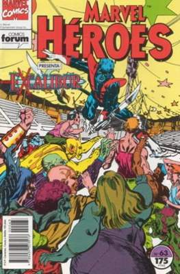 Marvel Héroes (1986-1993) (Grapa 32 pp) #63