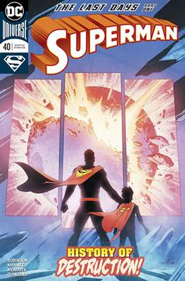 Superman Vol. 4 (2016-2018) #40