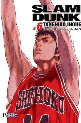 Slam Dunk - Edición Kanzenban (Rústica con sobrecubierta) #6