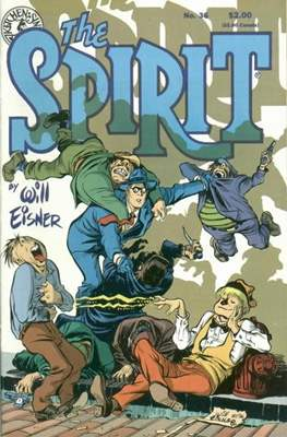 The Spirit (1983-1992) (Comic book. 32 pp) #36
