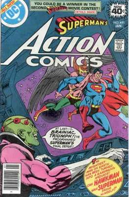 Action Comics Vol. 1 (1938-2011; 2016-) (Comic Book) #491