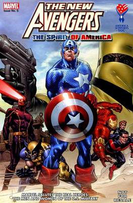 America Supports You: Marvel Salutes the Real Heroes, the Men and Women of the U.S. Military #5