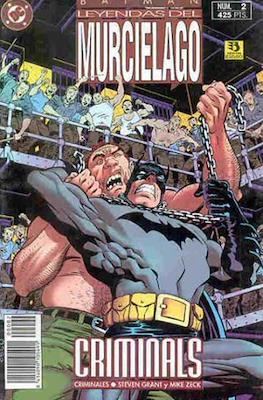 Batman. Leyendas del murciélago (Rústica) #2