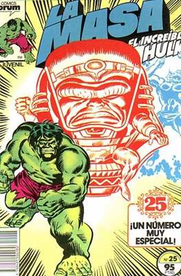 La Masa. El Increíble Hulk (Grapa 36-32 pp) #25