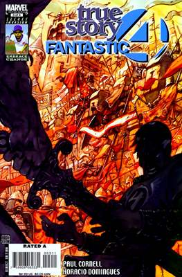 Fantastic Four: True Story (Comic Book) #3
