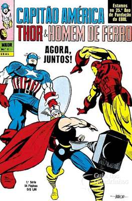 A Maior: Capitão América, Thor e Homem de Ferro