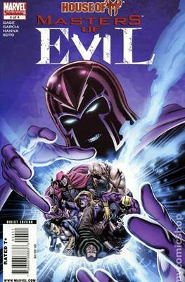 House of M: Masters of Evil (Comic Book) #4