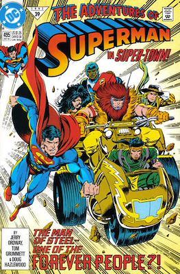 Superman Vol. 1 / Adventures of Superman Vol. 1 (1939-2011) (Comic Book) #495