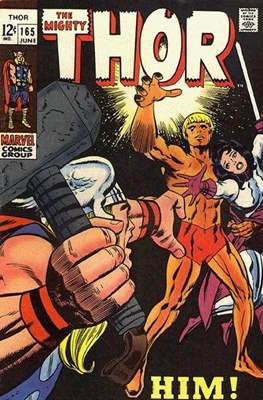 Journey into Mystery / Thor Vol 1 (Comic Book) #165
