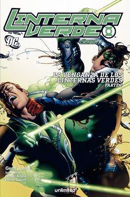 Linterna Verde. La venganza de los Linternas Verdes (Rústica) #2