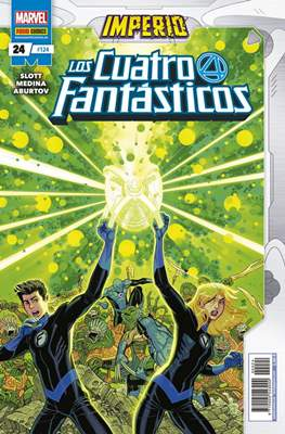 Los 4 Fantásticos / Los Cuatro Fantásticos Vol. 7 (2008-) (Grapa 24-48 pp) #124/24