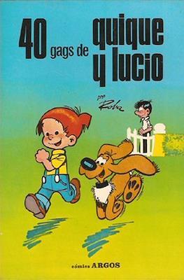 40 gags de Quique y Lucio