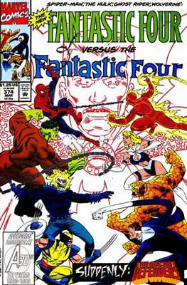 Fantastic Four Vol. 1 (1961-1996) (saddle-stitched) #374
