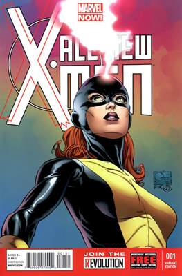 All-New X-Men Vol. 1 (Variant Cover) #1.2