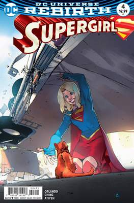 Supergirl Vol. 7 (2016-... Variant Cover) (Comic Book) #4