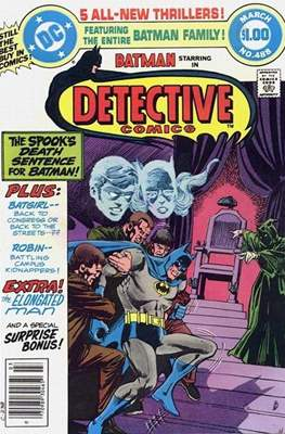 Detective Comics Vol. 1 (1937-2011; 2016-) (Comic Book) #488