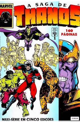 A saga de Thanos