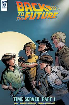 Back to the Future (Comic-book) #22