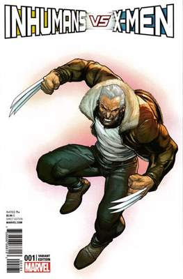 Inhumans vs. X-Men (Variant Cover) (Comic Book) #1.2