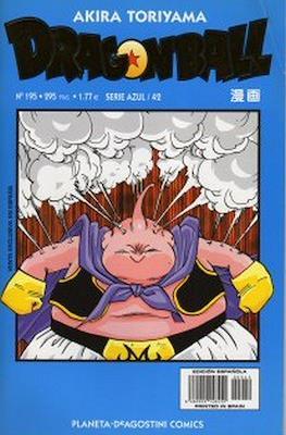 Dragon Ball - Serie Azul (Grapa) #195