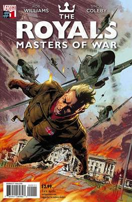 The Royals: Masters of War (Comic Book) #1