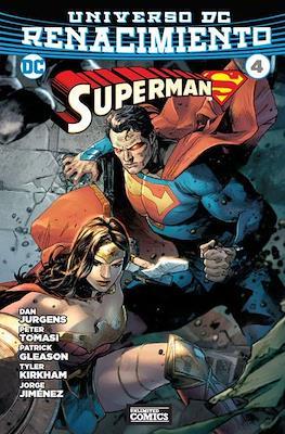 Superman: Renacimiento (Rústica) #4