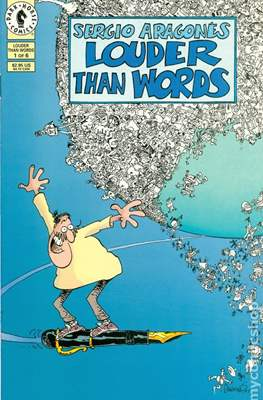 Sergio Aragonés Louder than Words (Miniserie) #1