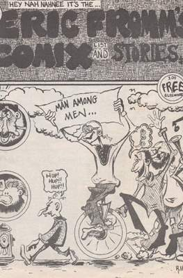 Eric Fromm's Comix List and Stories