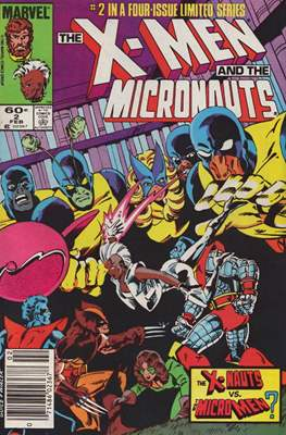 X-Men and the Micronauts (Comic Book) #2