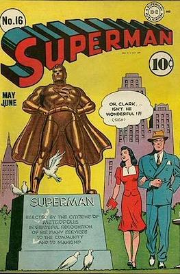 Superman Vol. 1 / Adventures of Superman Vol. 1 (1939-2011) (Comic Book) #16