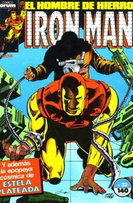 Iron Man Vol. 1 / Marvel Two-in-One: Iron Man & Capitán Marvel (1985-1991) (Grapa, 36-64 pp) #32