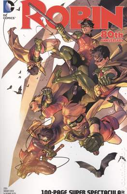 Robin 80th Anniversary (Variant Cover) (Softcover 100 pp) #1.7