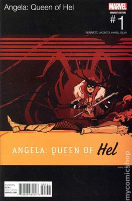 Angela: Queen of Hel (Variant Cover) #1.1