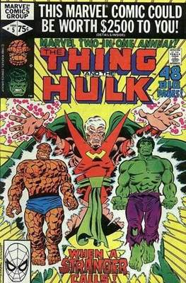 Marvel Two-in-One Annual (Comic Book. 1976 - 1982) #5