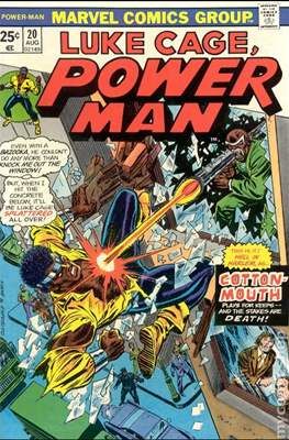 Hero for Hire / Power Man Vol 1 / Power Man and Iron Fist Vol 1 (Comic Book) #20