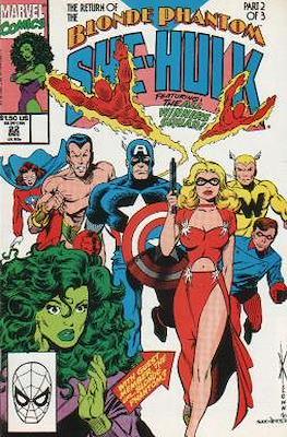 Sensational She-Hulk (1989-1994) #22