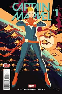 Captain Marvel Vol. 9 (2016) (Comic-Book) #1