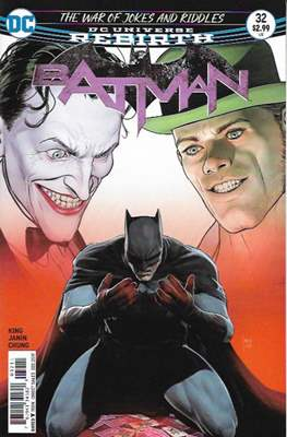 Batman Vol. 3 (2016-) (Comic Book) #32