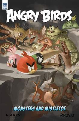 Angry Birds: Monsters and Mistletoe (Grapa) #1.1