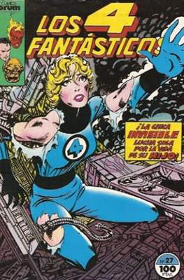 Los 4 Fantásticos Vol. 1 (1983-1994) (Grapa 36-32-24 pp) #27