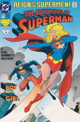 Superman Vol. 1 / Adventures of Superman Vol. 1 (1939-2011) (Comic Book) #502