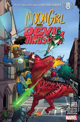 Moon Girl and Devil Dinosaur (Comic-book) #9