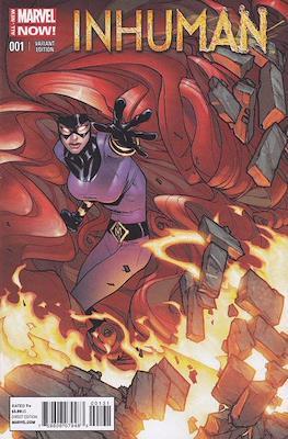 Inhuman (2014-2015 Variant Cover) (Comic Book) #1.4