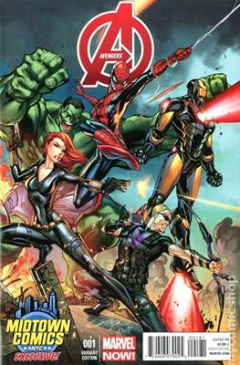 Avengers Vol. 5 (2013-2015 Variant Covers) (Comic Book) #1.8