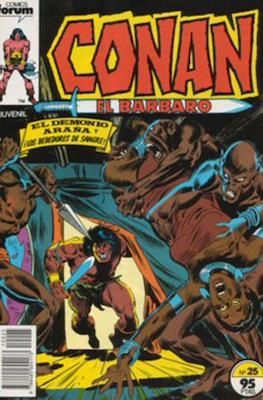 Conan el Bárbaro (1983-1994) (Grapa. 19x27. 36/32/24 páginas. Color.) #25