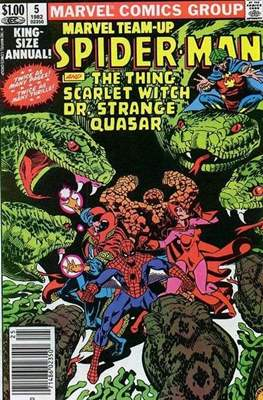 Marvel Team-Up Annual (Comic Book. 1976 - 1984) #5
