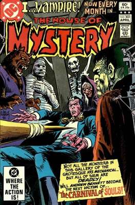 The House of Mystery (Grapa) #303
