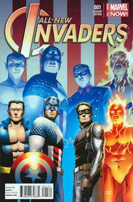 All-New Invaders (2014 Variant Cover) (Comic Book) #1