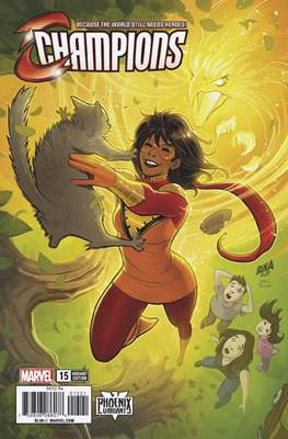 Champions Vol. 2 (2016) Variant Covers (Comic Book) #15.1